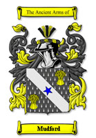 Mudford family crest